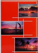 Fotoalbum 10x15 pro 300 fotografií Gleam červený