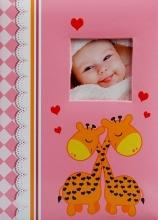Fotoalbum 10x15 pre 300 fotografií Tickle ružový