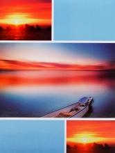 SAMOLEPIACE album 40 strán Sunrise modrý