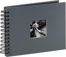 Klasické fotoalbum 50 strán Fina Art šedé malé