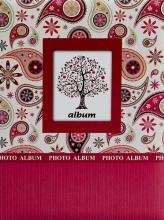 Mini album pre 100 fotiek 10x15 Pico 1 vínové