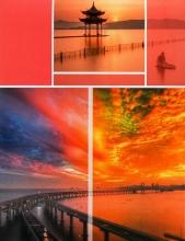 Fotoalbum 10x15 pre 200 fotiek Timing  červený