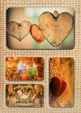 Fotoalbum 10x15 pre 200 fotografií Linen 2 hnedý