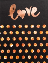 Mini album pre 100 fotiek 10x15 Love 1 zlaté