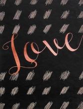 Mini album pre 100 fotiek 10x15 Love 3 ružové