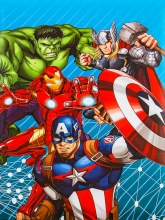 Samolepiace album 40 strán -  Disney Avengers