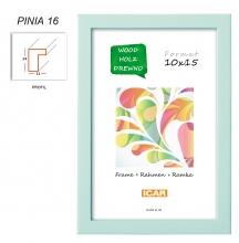 Fotorámeček 10x15 PINIA 16 zelenkavý