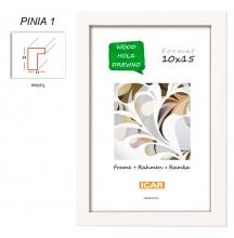 Fotorámeček 13x18 PINIA 1 bílý