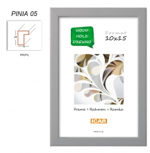 Fotorámeček 15x21 PINIA 05 šedý