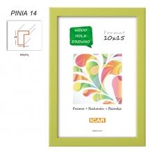 Fotorámeček 15x21 PINIA 14 zelený