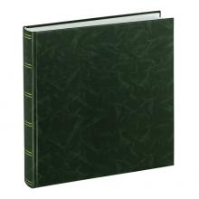 Klasické fotoalbum 100 strán Birmingham 30x30 zelený
