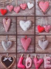 SAMOLEPIACE album 40 strán Heart 3 Love