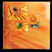 Klasické fotoalbum 100 strán Singo oranžový