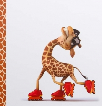 Album detský 100 stran Giraffe 3