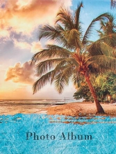 Mini album pre 100 fotiek 10x15 Summer modrý