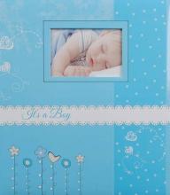Album dětské 60 stran Bambini modré
