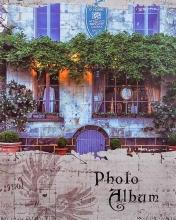 Fotoalbum 10x15 pre 200 fotiek Nostalgia modrý