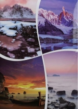 Fotoalbum 10x15 pro 300 fotografií  VEO 3 růžový