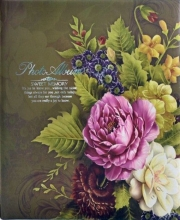 Fotoalbum 10x15 pre 500 fotiek Flowers zelený