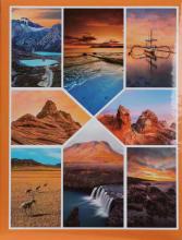 Fotoalbum 10x15 pre 200  fotiek Temps oranžový