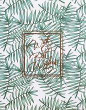 Fotoalbum 10x15 pre 200 fotiek Green kapradí