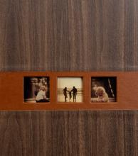 Klasický fotoalbum 60 strán Lifestyle svetlo hnedý
