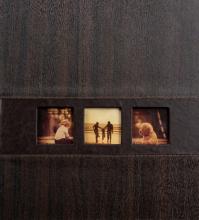 Klasické fotoalbum 60 stran Lifestyle tmavě hnědé