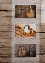 Fotoalbum 10x15 pre 300  fotiek Fame  2 zlaté srdce