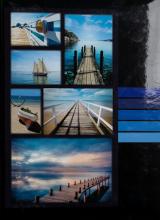 Fotoalbum 10x15 pre 300  fotiek Millo modrý