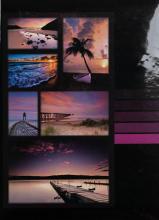 Fotoalbum 10x15 pre 300  fotiek Millo fialový