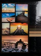 Fotoalbum 10x15 pre 300  fotiek Millo oranžový