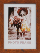 Fotorámeček 21x29,7 Style tm.hnědý A4