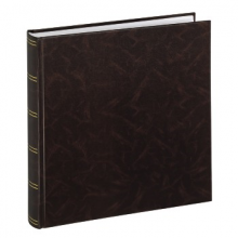 Klasické fotoalbum 100 strán Birmingham 30x30 hnedý