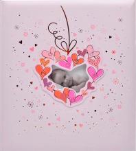 Klasické fotoalbum 60 stran  KPH Baby růžové