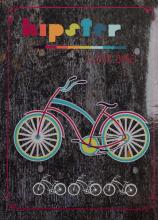 Fotoalbum 10x15 pre 200 fotografií Bike 3 ružový