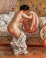Rising 50x60cm (Le Lever) (1909) Pierre-Auguste Renoir