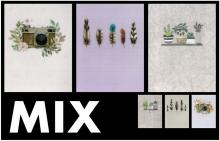 Mini album 10x15 pre 36 fotiek Simple MIX
