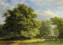 Pohľad na Benteimský les 50x70cm - George Andries_Roth