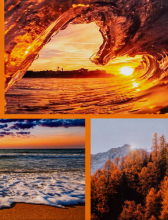 Album 10x15 pre 304 fotiek  Earth oranžový