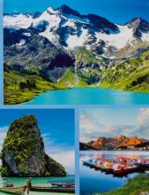 Album 10x15 pre 304 fotiek  Earth modrý
