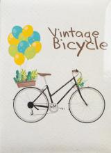 Fotoalbum 10x15 pre 200 fotografií Retro Bike hnedý