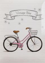 Fotoalbum 10x15 pre 200 fotografií Retro Bike ružový