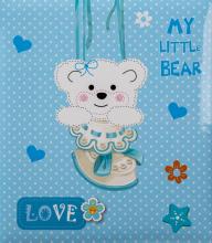 Album detské 60 strán  Teddy modrý
