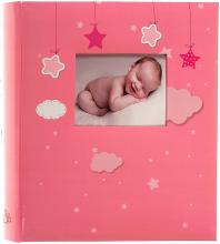Fotoalbum 10x15 pre 500 fotiek Bebe ružový
