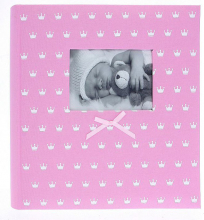 Fotoalbum 10x15 pre 500 fotiek Miracle ružový