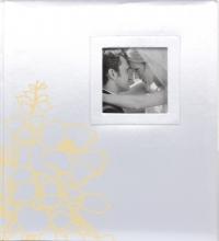 Svadobné fotoalbum 60 strán Baccara biely