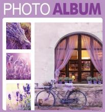 Fotoalbum 10x15 pre 500 fotiek Terracotta fialový