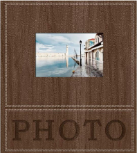 Klasické fotoalbum 60 strán Trendy hnedý