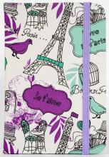 Zápisník Paris A6 magenta