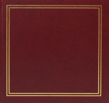 Album 13x18 pro 50 fotek Vinyl vínové
